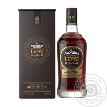 Angostura 1787 rum 40% 0,7l - buy, prices for Novus - image 1