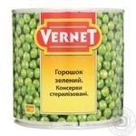 Горошек зеленый Vernet 425мл