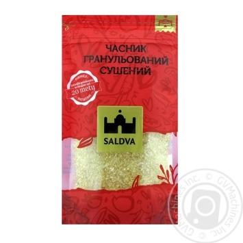 Чеснок гранулированный сушеный Saldva 32г - купить, цены на Novus - фото 1