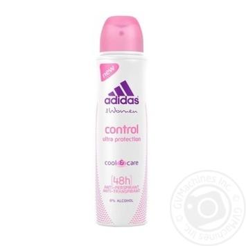 Дезодорант-антиперспирант Аdidas Cool&Care Control женский 150мл - купить, цены на Novus - фото 1