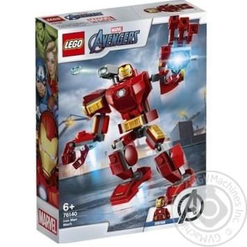 Конструктор Lego 76140 Робокостюм Железного Человека - купить, цены на Метро - фото 1
