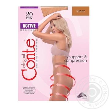 Колготы Conte Active 20 Den р.5 bronz шт - купить, цены на Novus - фото 1