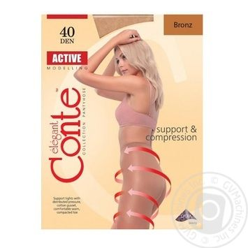 Колготы Conte Active 40 Den р.5 bronz шт - купить, цены на Novus - фото 1