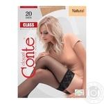 Колготы Conte Class женские 20den natural 1-2 размер