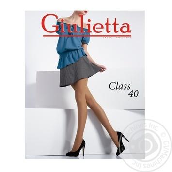 Колготы Giulietta Class daino женские 40ден 3р - купить, цены на Novus - фото 1