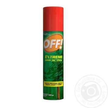 Спрей проти комарів OFF! Екстрім 100мл - купити, ціни на Novus - фото 1
