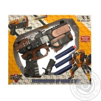 Krayina Ihrashok Toy Blaster Transformer HW-501B - buy, prices for MegaMarket - image 1