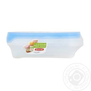 Набор пищевых контейнеров Curver Take Away 1л 3шт - купить, цены на Таврия В - фото 1