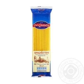 Del Castello №2 Spaghetti 500g - buy, prices for Novus - image 1