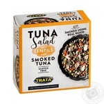 Trata With Lentils And Smoked Tuna Salad 160g - buy, prices for Novus - image 1
