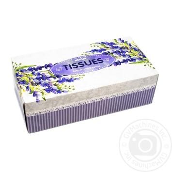Салфетки Novus косметические бумажные 2-х слойные 150шт