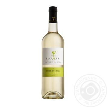 Вино Rafale Chardonnay Pays D'OC белое полусухое 12% 0,75л