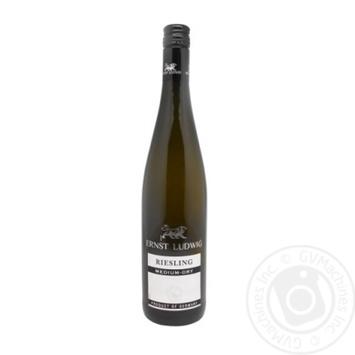 Вино Ernst Ludwig Riesling белое полусухое 10% 0,75л