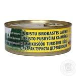 Консерва м'ясна Brasla LVA Cніданок туриста селянський 250г
