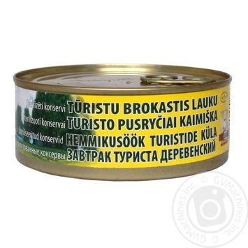 Brasla LVA Country Tourist Breakfast Meat Conserve 250g - buy, prices for Novus - image 1