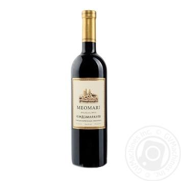Вино Meomari Киндзмараули красное полусладкое 11.5% 0,75л