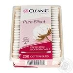 Cleanic Pure Effect Cotton Buds 200pcs