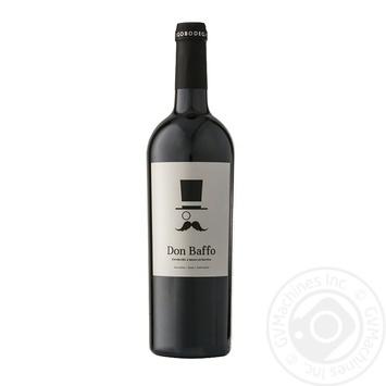 Вино Ego Bodegas Don Baffo красное сухое 14% 0.75л - купить, цены на Novus - фото 1