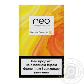 Стики табачные GLO Neo Demi Magnetic Pineapple - купить, цены на Восторг - фото 2