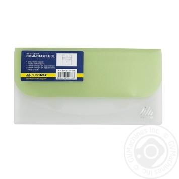 Папка-конверт Buromax DL Travel на липучке 1шт - купить, цены на СитиМаркет - фото 1