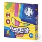 Astra Fluorescent Plasticine 6 Colors