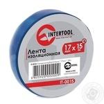 Стрічка InterTool ізоляційна 0.15mm * 17mm * 15m упак 10 штIT-0015