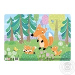 DoDo R300184 Foxes With Frame Puzzles