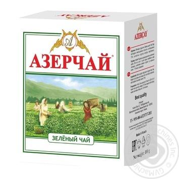 Чай зелений Azercay 100г - купити, ціни на Ашан - фото 1