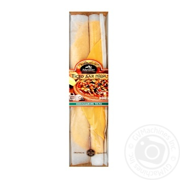 Тесто Kulinarium Meister для пиццы 500г - купить, цены на Ашан - фото 1