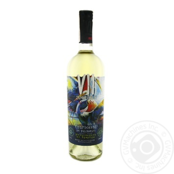 Вино Aurvin VII Zapovednikov Chardonnay De Vulcanesti белое полусладкое 13% 0,75л