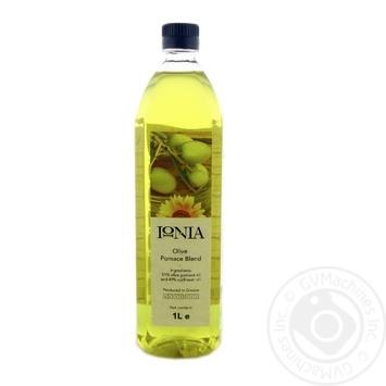 Смесь подсолнечного и оливкового масла IONIA рафинированное 1л - купить, цены на Novus - фото 1