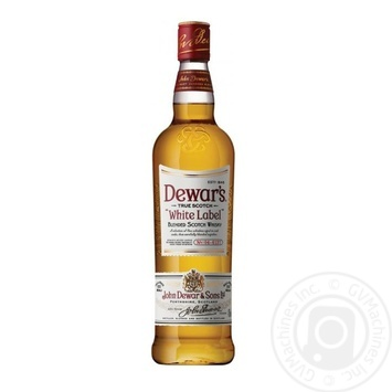 Виски Dewar's White Label 40% 0,5л