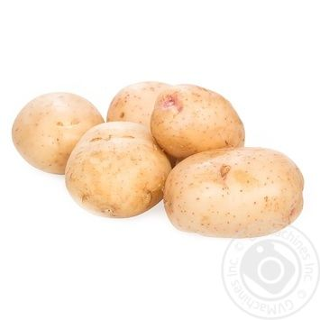 Wite Young Potatoes