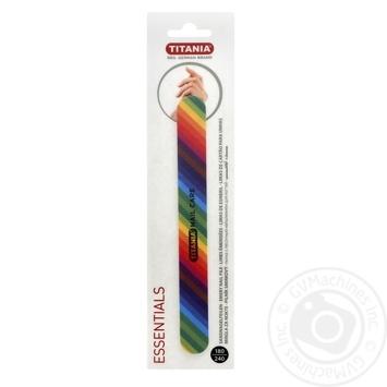 Пилочка для нігтів Titania 1028 - купити, ціни на Ашан - фото 1