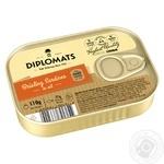Diplomats Smoked In Oil Sardines 110g