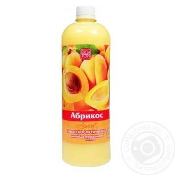 Soap Bioton with apricot liquid for body 1000ml - buy, prices for Novus - image 1