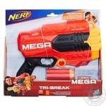 Бластер Нерф Мега Три брейк E0103 - купить, цены на Novus - фото 1