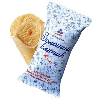 Мороженое Рудь Золотой ключик 70г