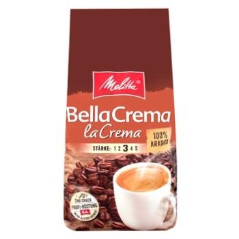 Кофе Мелитта БеллаКрема ЛаКрема 100% арабика натуральный жареный в зернах 1000г Германия