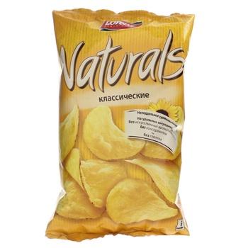 Чипсы Лоренц Нетчерелс Классические картофельные с солью 110г Германия - купить, цены на Novus - фото 1