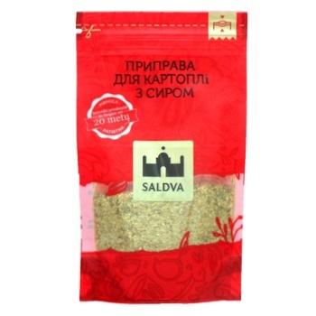 Приправа Saldva для картофеля с сыром 25г