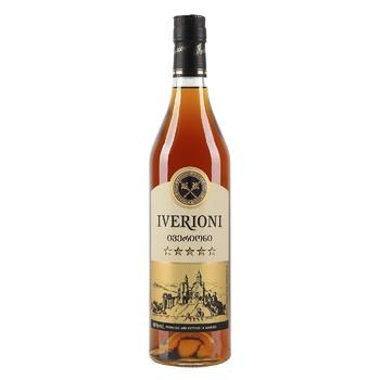 Iverioni 5 Brandy 0,7l - buy, prices for CityMarket - photo 1