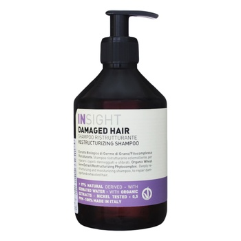 Shampoo Insight for the hair restoration 400ml - buy, prices for Novus - image 1
