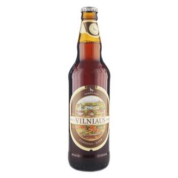 Пиво Vilniaus Alus Dark темное 5,6% 0,5л