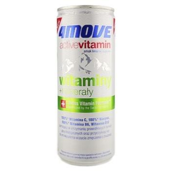 Напиток 4Move изотонический с добавлением витаминов и минералов 0,25л