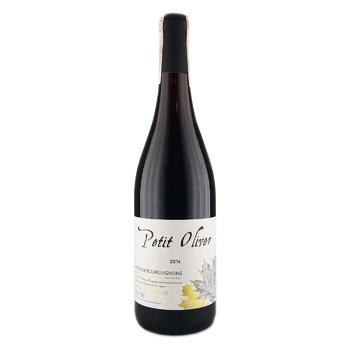 Вино Petit Oliver Coteaux Bourguignons красное сухое 13% 0,75л