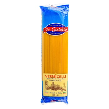 Макаронні вироби Del Castello Спагеті №5 500г - купити, ціни на Novus - фото 1