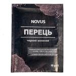 Novus Ground Black Pepper 15g