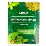 Приправа Прованские травы Novus 10г - купить, цены на Novus - фото 1