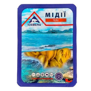 Мідії Чілі Iceberg в олії 150г - купити, ціни на Ашан - фото 1
